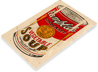"""TIN SIGN """"Campbell's Soup Can"""" Metal Garden Kitchen Farm Cottage Shop Store A906"""
