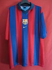 Maillot BARCELONE Nike Barca FCB Barcelona Vintage 2002 TBE - L