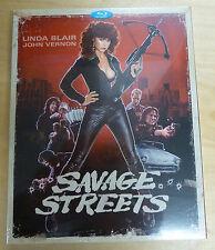 Savage Streets (1984) - blu-ray - ltd. ed. - new & sealed - worldwide shipping!