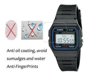 3 PACK Casio Men's F91W-1 Classic Black Digital Resin Strap Watch Anti-shock
