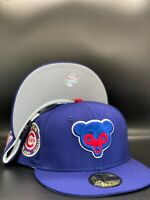 Chicago Cubs Custom New Era 1962 All-Star Game Side Patch 59Fifty Grey UV