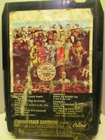 8 Track Tape Capitol 8XT 2653 BEATLES Sgt. Pepper's Lonely Hearts Club Band 701A