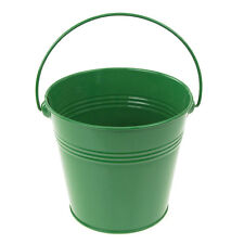 Metal Pail Bucket Candy Favor Boxes, 5-Inch