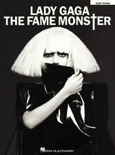 Lady Gaga The Fame Monster Learn to Play Alejandro EASY Piano Music Book