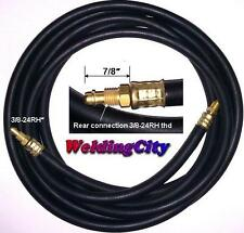 TIG Welding Power Cable Gas Hose 57Y01R Rubber 12.5' Torch 9/17 | US Seller Fast