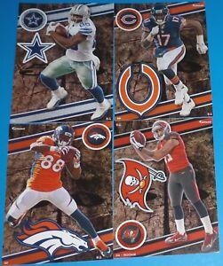 2014 NFL FATHEAD TRADEABLES 4 Mike Evans (Rookie Dez Bryant D. Thomas A. Jeffery
