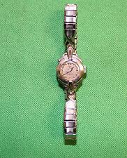 vintage white gold 14k Omega ladies watch  Wristwatch 17 jewels 213 movement