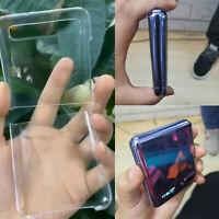 TPU Stoßfeste Schutzhülle Flip Case Hard Cover Skin für Samsung Galaxy Z Flip
