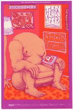 Original Mint 69 Psychedelic Ten Years After Spirit Fillmore West Postcard Bg163