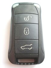 Replacement 3 button flip key case for Porsche Cayenne remote flip key fob