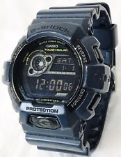Casio Men's GR8900NV G-Shock Tough Solar Power Military Navy Digital Watch BLUE