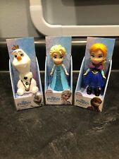 "Jakks Pacific Disney Mini Toddler Dolls Frozen ELSA OLAF & ANNA 3"" Lot"