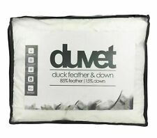 Luxury Duck Feather & Down Duvet Quilt 10.5 Tog Bedding All Sizes Hotel Quality