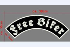 62 = freebiker Biker Patch ricamate moto MC Rocker STAFFA immagine Heavy piccoli