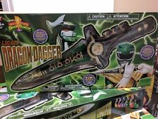 POWER RANGERS Legacy Dragon Dagger Green Ranger Brand New MISB