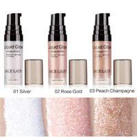 Liquid Highlighter Stick Shimmer Cream Powder Waterproof Light Face Cosmetic GIF