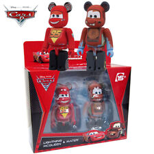 Bearbrick Be@rbrick Cars 2 Lightning McQueen and Mater Pack Set of 2pcs