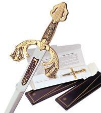 Miniature Damascene Tizona Cid Sword Letter Opener by Marto of Toledo 5500.3S