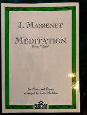Noten J.Massenet Meditation Thais Flute & Piano / Querflöte