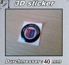 BMW Alpina 3D-Logo-Aufkleber Muster-Gangschaltung 40mm
