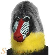 Babouin latex complet Masque tête complète ANIMAL SINGE Accessoire déguisement