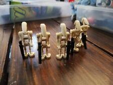 Genuine LEGO® - Star Wars - x5 Battle Droids - mini figure - 75080 75151