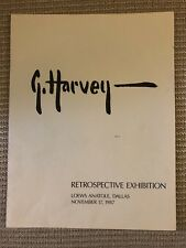 G Harvey - Retrospective Exhibition, Loews Anatole, Dallas, 11/17/87