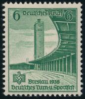 DR 1938, MiNr. 666 I, tadellos postfrisch, gepr. Peschl, Mi. 100,-