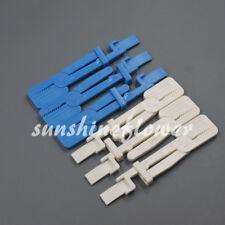 Dental X Ray Film Clip Holder Radiograph Plastic Whiteblue Color Clamp Head