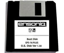 Ensoniq Eps-16 Plus Boot Disk Os 1.30 Operating System Start Up Disk Eps 16 New