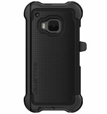 Ballistic HTC ONE M9 Tough Jacket MAXX Case with Holster - Black TX1608-A06N
