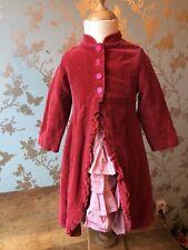 Jottum Rembrandt BELLINA coat size 98 /3 yrs and Jottum SANNEKE dress size 104