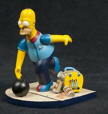 Simpsons Misadventures Homer Spare Me Bowling Hamilton Collection Sculpture