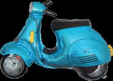 BLUE LAMBRETTA/VESPA STYLE SCOOTER SUPERSHAPE BALLOON!