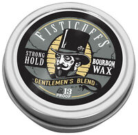 Fisticuffs Gentlemen's Blend Strong Hold Mustache Wax 1 OZ. Tin