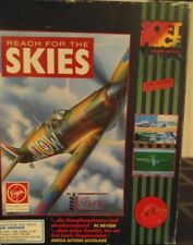 Reach for the Skies (VIRGIN 1992) Commodore Amiga (2 disk, Box, manual) (défectueux)