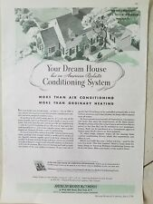 1936 American Radiator Co your dream home has air conditioning heating system ad