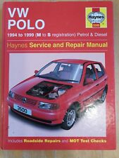 Haynes Manual For VW Polo 94 to 99 ( M to S reg ) Petrol & Diesel