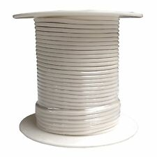 16 Gauge White Primary Wire 100 Foot Spool : Meets SAE J1128 GPT Specifications