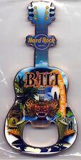 Hard Rock Hotel BALI New City Guitar Bottle Opener Magnet