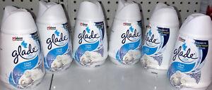 6X Glade Solid Air Freshener ~ Clean Linen~ 6 Oz Ea