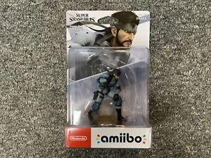 Metal Gear Solid Snake No.75 Amiibo Figure BRAND NEW Nintendo UK Stock