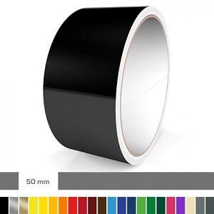 Zierstreifen 50 mm verschiedene Farben für Auto, Motorrad Wohnmobil, Modellbau