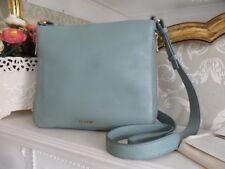 Fossil Preston Seaglass Leather Expandable Crossbody Bag RRP£119 Fits iPad mini