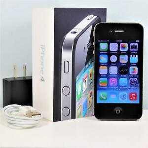 Apple iPhone 4 (AT&T) 32GB, Black In Box Smartphone - GSM 3G - A1332