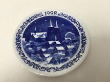 """1998 Royal Copenhagen Denmark Roskilde Cathedral Mini Plate, 3 1/8"""" Diameter"""