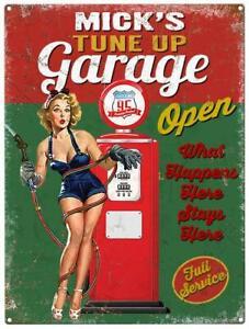 Personalised Garage Metal Wall Sign (3 sizes)