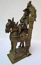 Ancien bronze indien Khandoba et son épouse Banai Inde Maharashtra 18e