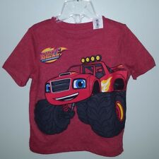 NEW Old Navy Boys 18-24 MONTHS Blaze Monster Machines Shirt RED  #214218