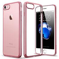 For Apple iPhone 8 SE 5s 6s 7 Plus Shockproof Hybrid Transparent Case Cover